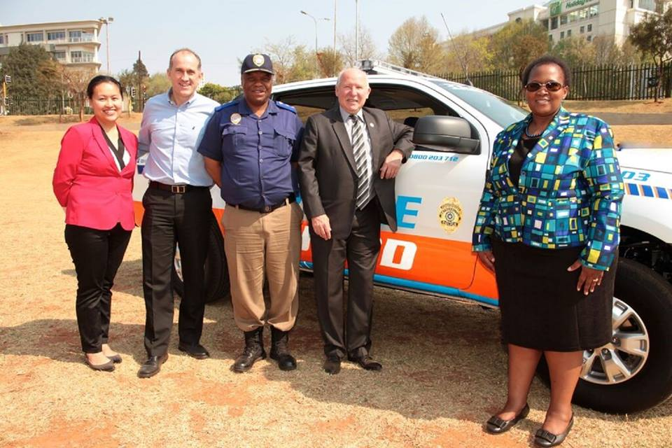 SCMD sponsor a new vehicle for JMPD